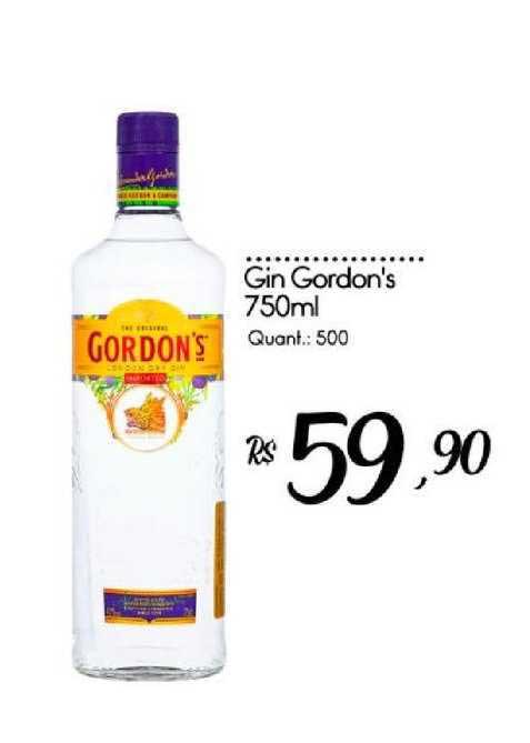 Giassi Supermercados Gin Gordon's