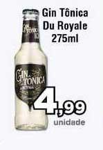 Copercana Gin Tônica Du Royale