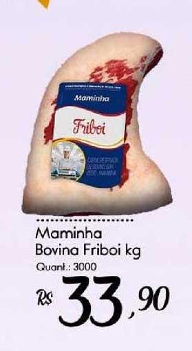 Giassi Supermercados Maminha Bovina Friboi