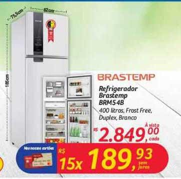 Hipermercado Big Refrigerador Brastemp Brms5 4b