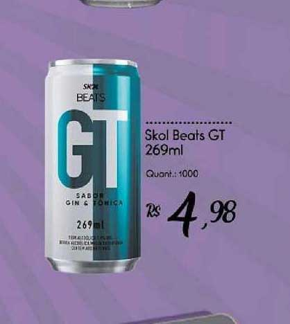 Giassi Supermercados Skol Beats Gt