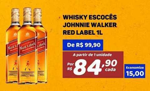 Bahamas Mix Whisky Escocês Johnnie Walker Red Label