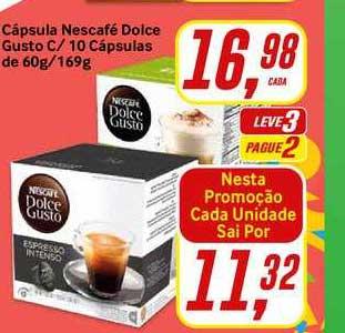 Rede Supermarket Cápsula Nescafé Dolce Gusto