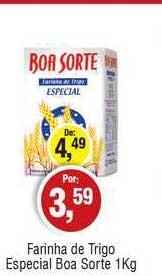 Royal Supermercados Farinha De Trigo Espeicial Boa Sorte