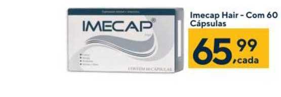 Coop Imecap Hair Com 60 Cápsulas
