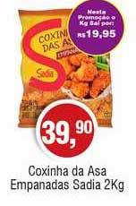 Royal Supermercados Coxinha Da Asa Empanadas Sadia