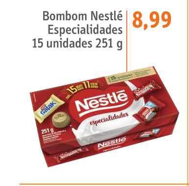 Sonda Supermercados Bombom Nestlé Especialidades