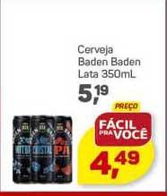 Supermercados São Vicente Cerveja Baden Baden