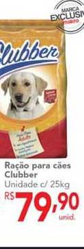 Makro Ração Para Cães Clubber