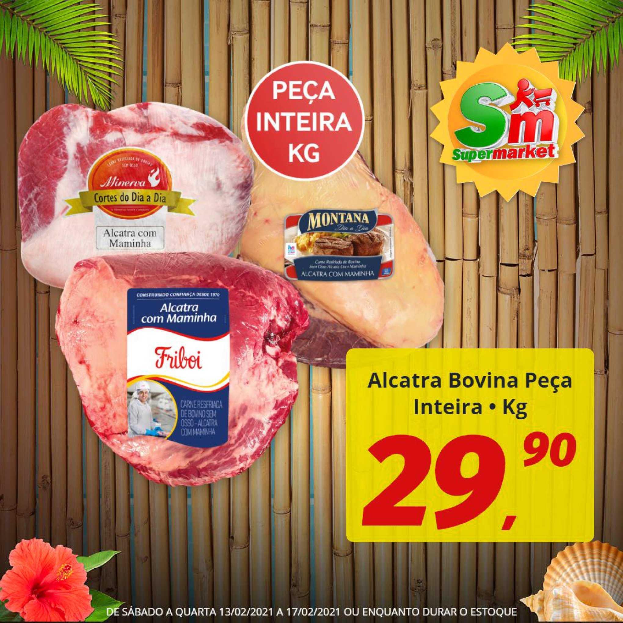 Rede Supermarket Alcatra Bovina Peça Inteira