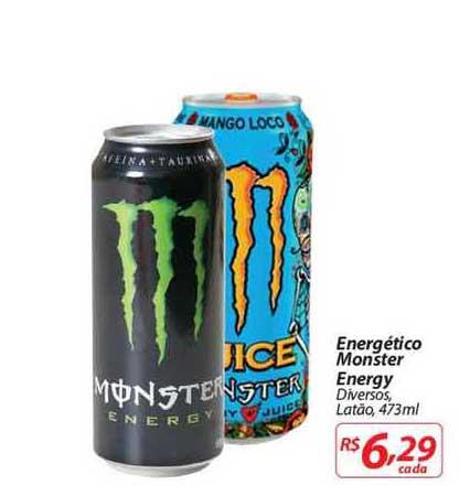 Mercadorama Energético Monster Energy
