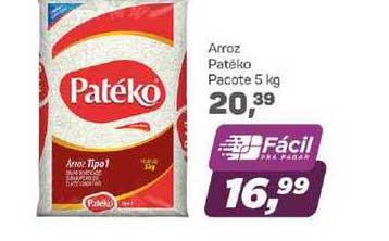 Supermercados São Vicente Arroz Patéko