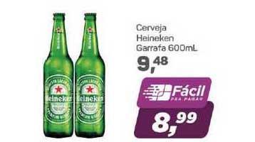 Supermercados São Vicente Cerveja Heineken