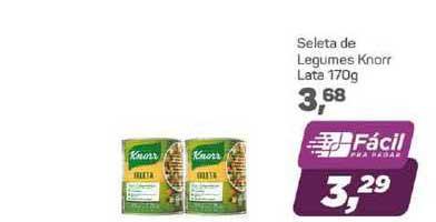 Supermercados São Vicente Seleta De Legumes Knorr