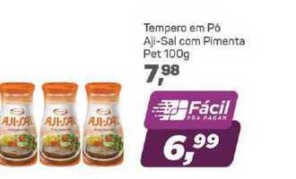 Supermercados São Vicente Tempero Em Pó Aji-sal Com Pimenta