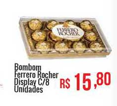 Mart Minas Bombom Ferrero Rocher Display