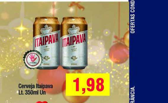 Spani Atacadista Cerveja Itaipava