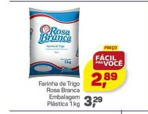 Supermercados São Vicente Farinha De Trigo Rosa Branca Embalagem