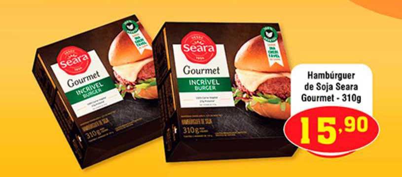 Shibata Supermercados Hambúrguer De Soja Seara Gourmet