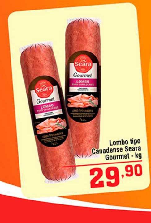 Shibata Supermercados Lombo Tipo Canadense Seara Gourmet