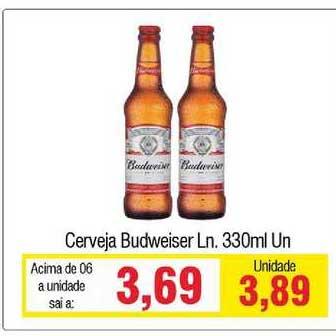 Spani Atacadista Cerveja Budweiser