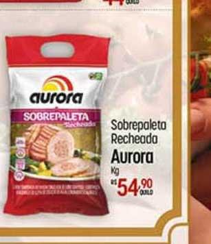 Super Muffato Sobrepaleta Recheada Aurora