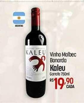 Super Muffato Vinho Malbec Bonarda Kaleu