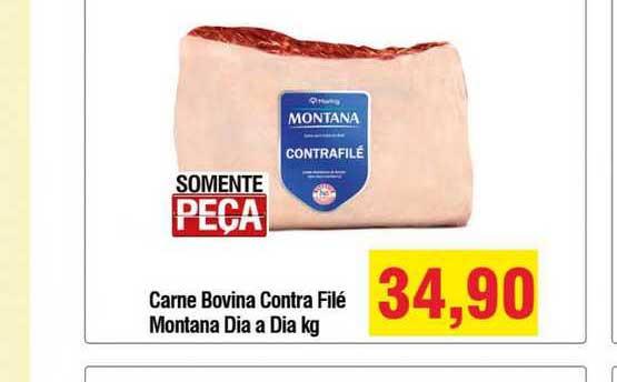 Spani Atacadista Carne Bovina Contra Filé Montana Dia A Dia