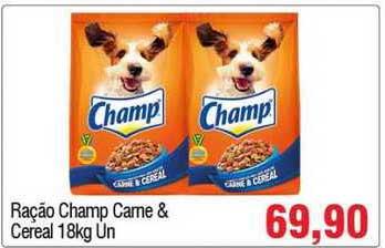 Spani Atacadista Ração Champ Carne & Cereal