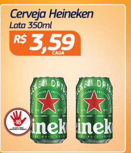 Assaí Atacadista Cerveja Heineken