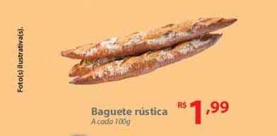 Nacional Baguete Rústica