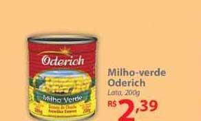 Nacional Milho-verde Oderich
