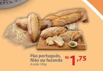 Nacional Pão Português Filão Ou Fazenda