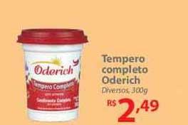 Nacional Tempero Completo Oderich