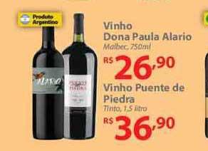 Nacional Vinho Dona Paula Alario Vinho Puente De Piedra