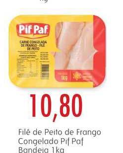 Epa Filé De Peito De Frango Congelada Pif Paf Bandeia