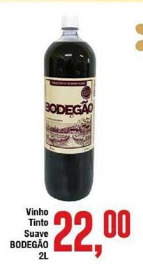 Rede Economia Vinho Tinto Suave Bodegão