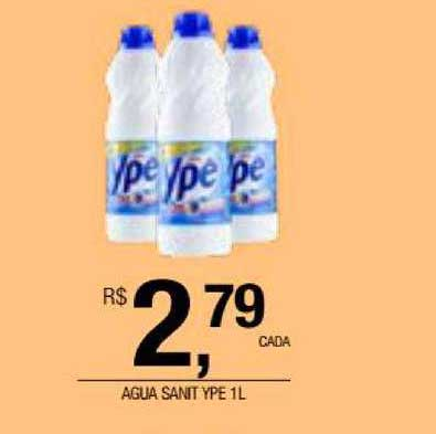 DB Supermercados Agua Sanit Ype