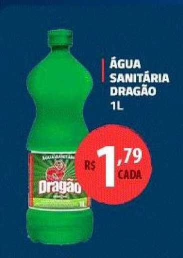Extrabom Supermercados água Santiária Dragão