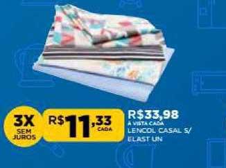 DB Supermercados Lencol Casal Elast S Un