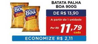 Bahamas Mix Batata Palha Boa