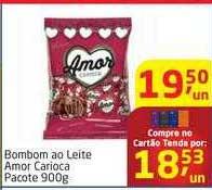 Tenda Atacado Bombom Ao Leite Amor Carioca