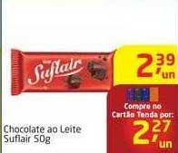 Tenda Atacado Chocolate Ao Leite Suflair