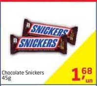 Tenda Atacado Chocolate Snickers