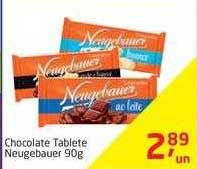 Tenda Atacado Chocolate Tablete Neugebauer