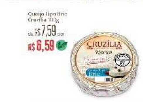 Natural Da Terra Queijo Tipo Brie Cruzilia