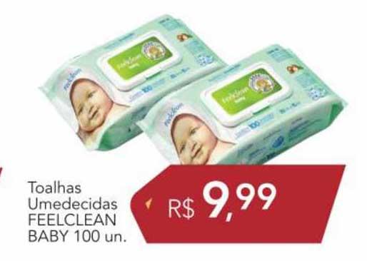 Supermercados Koch Toalhas Umedecidas Feelclean Baby