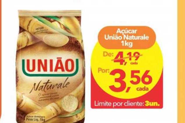 Lopes Supermercados Açúcar União Naturale