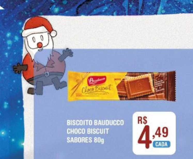 Extrabom Supermercados Biscoito Bauducco Choco Biscuit