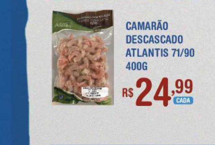 Extrabom Supermercados Camarão Descascado Atlantis